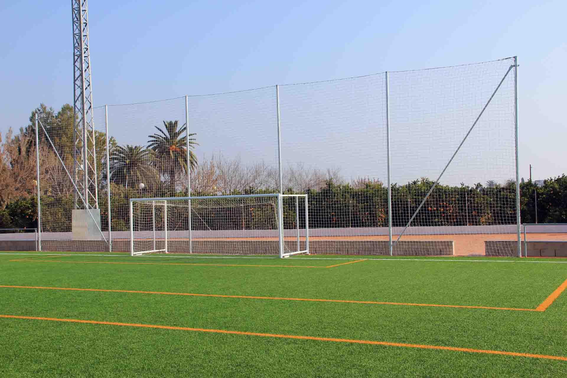 eff4d0381d84a Red de red de protección de fondos para campos de fútbol