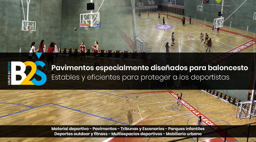 Pavimentos deportivos para baloncesto