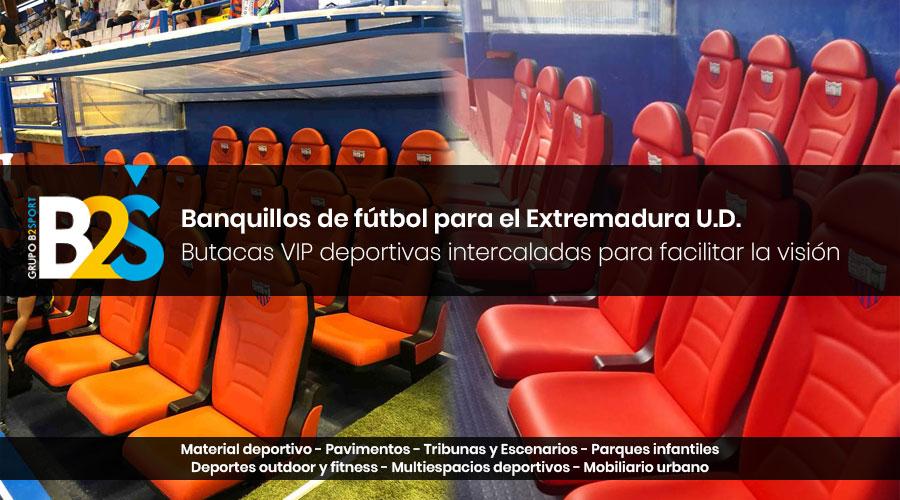 Banquillos de fútbol Extremadura