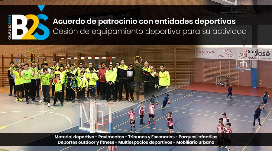 Patrocinios Inclusport CyL Basket San José