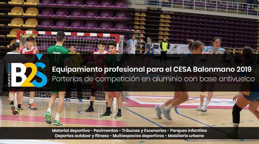 porterías CESA Balonmano 2019