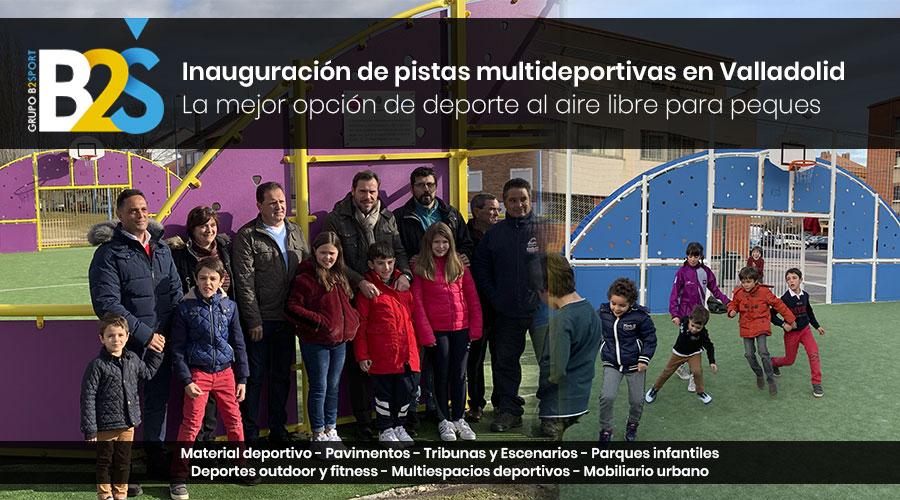 Pistas multijuegos Polideportivas Valladolid