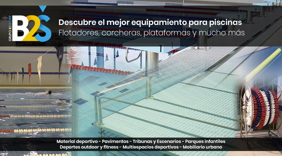 Equipamiento para piscinas cubiertas