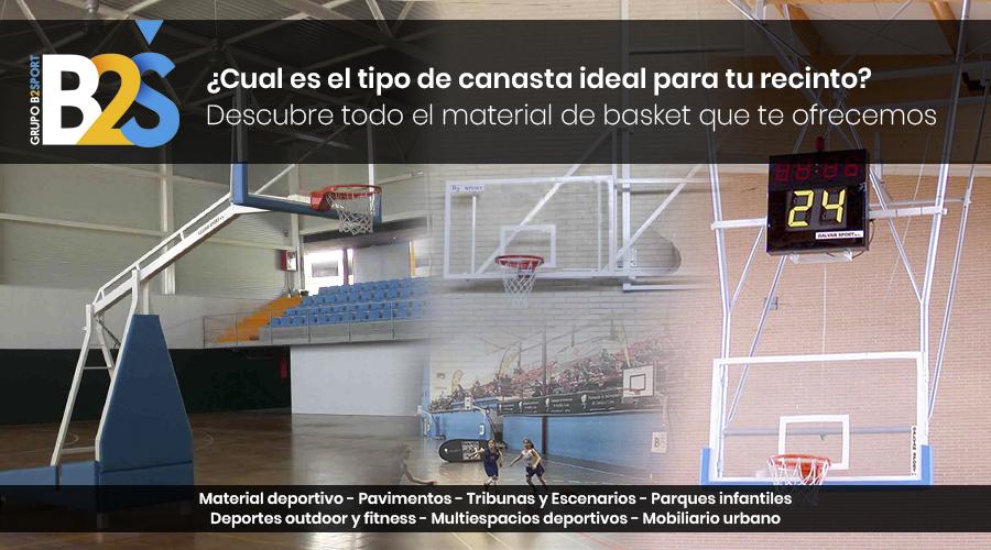 Tipos de canastas de baloncesto