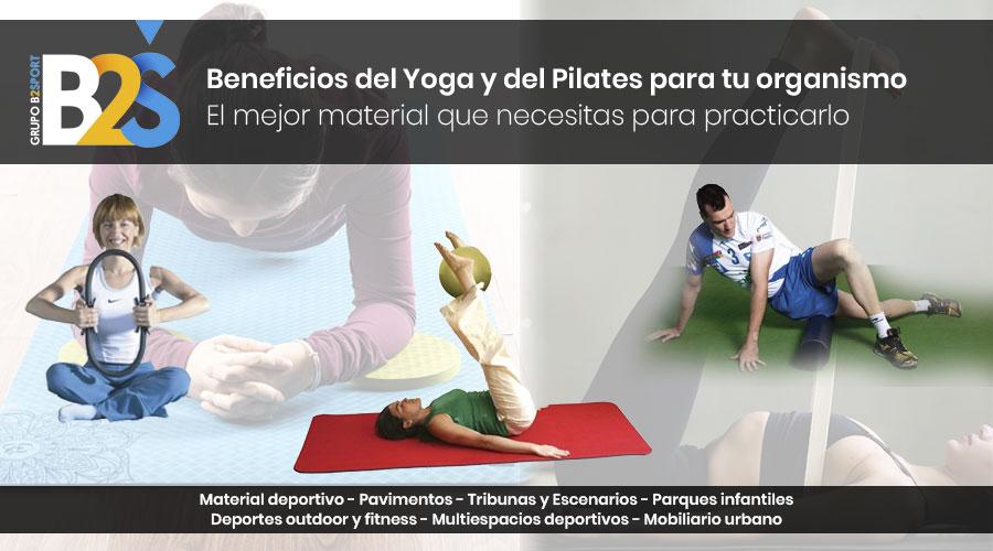 beneficios del yoga y del pilates
