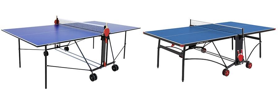 mesas plegables de ping pong