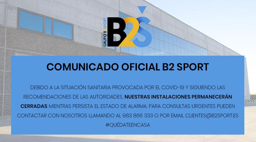 COMUNICADO OFICIAL B2 SPORT