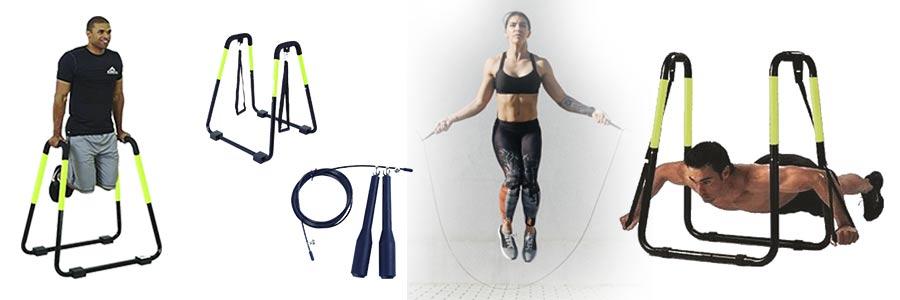 ejercicio fitness en casa