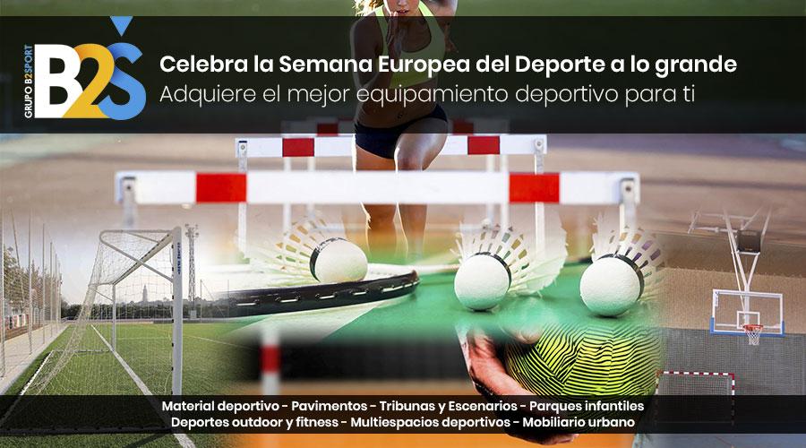 La Semana Europea del Deporte con el mejor equipamiento