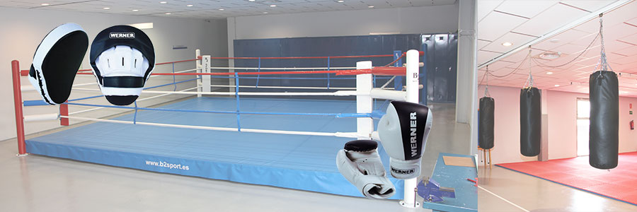 material para boxeo
