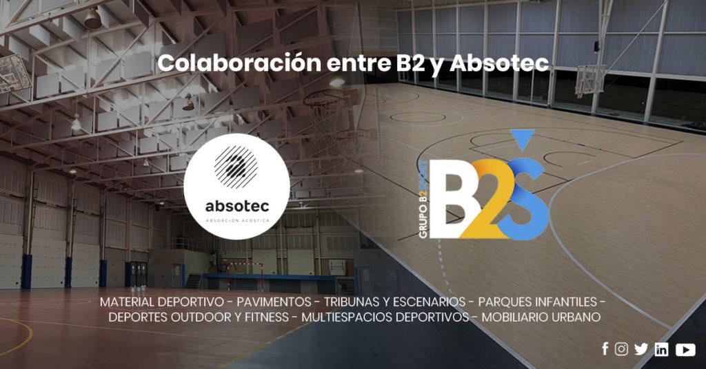 Colaboración de B2 Sport con Absotec
