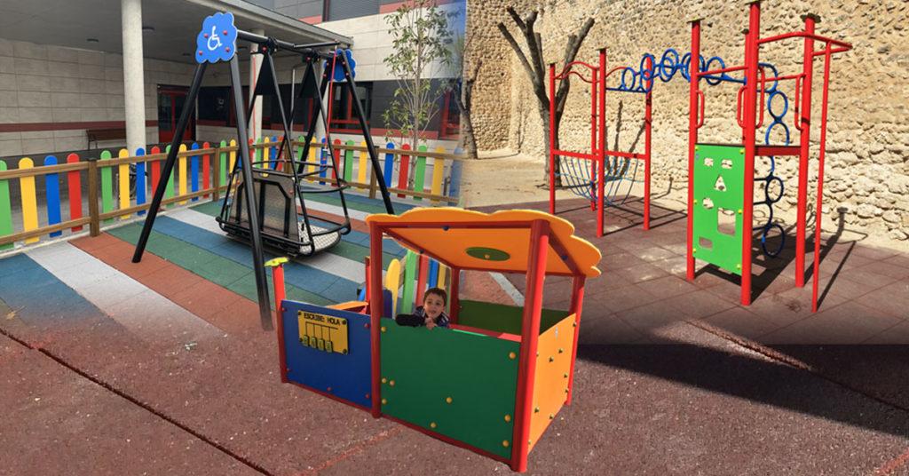 Parques inclusivos y adaptados