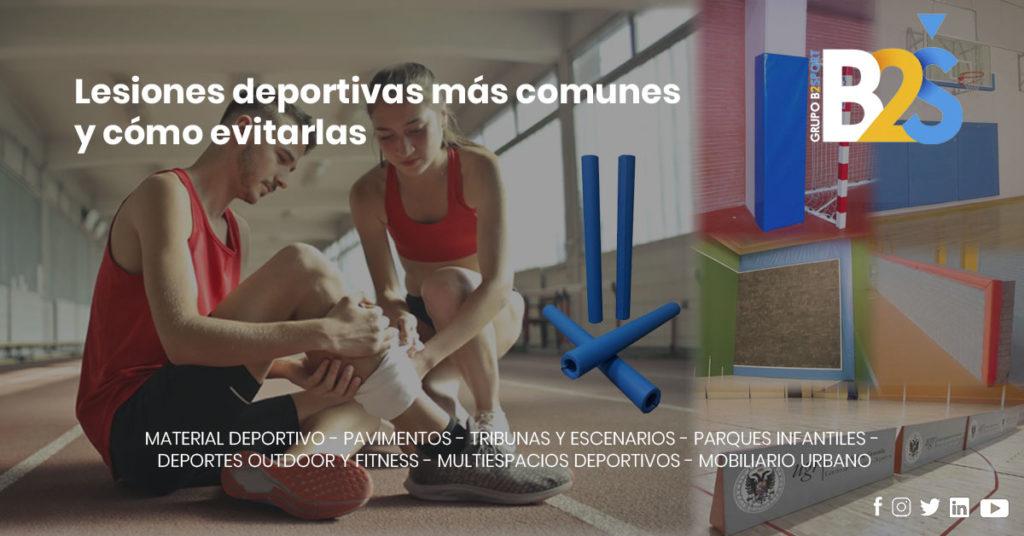 Lesiones deportivas más comunes y cómo evitarlas