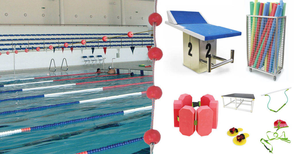 material para piscinas