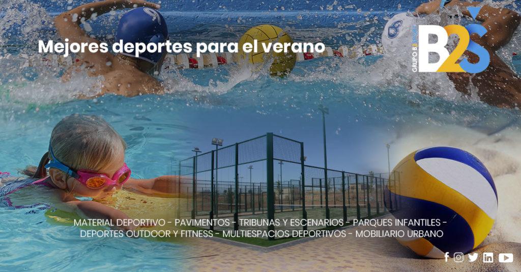 Los mejores deportes para verano