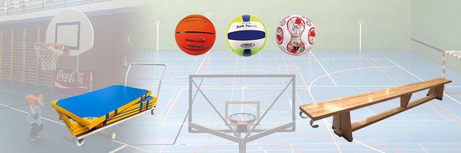 material deportivo colegios educacion fisica